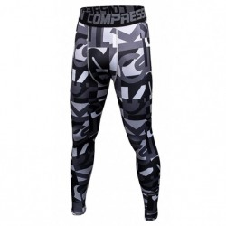 Mallas hombre fitness elastic of compresion sin costuras y with estampados y dibujos. Leggins (letras)