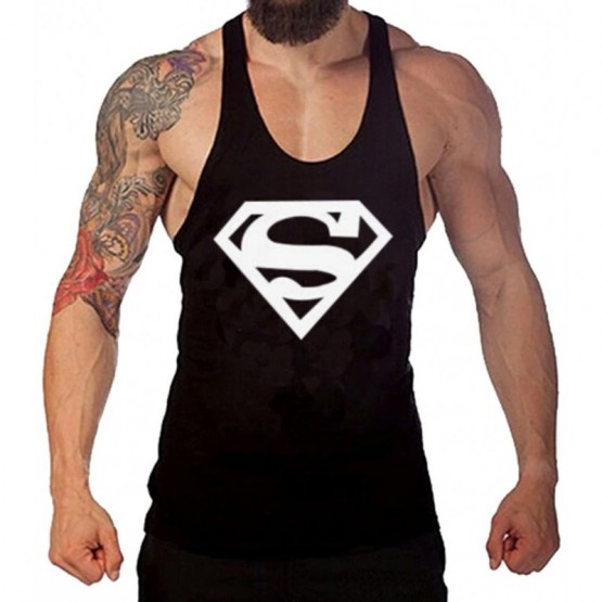 schön in der Farbe Gedanken an 100% Spitzenqualität Gym tank tops Tank top for men. Male fitness shirt to train. Gym shirt and  bodybuilding.